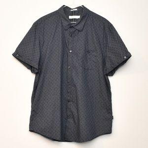 Calvin Klein Mens Casual  Button Down Shirt XL